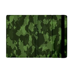 Camouflage Green Army Texture Ipad Mini 2 Flip Cases