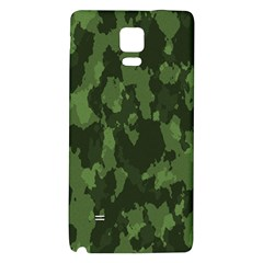 Camouflage Green Army Texture Galaxy Note 4 Back Case