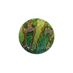 Chameleon Skin Texture Golf Ball Marker (10 pack)
