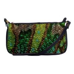 Chameleon Skin Texture Shoulder Clutch Bags