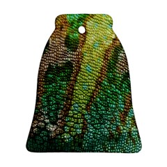 Chameleon Skin Texture Bell Ornament (Two Sides)