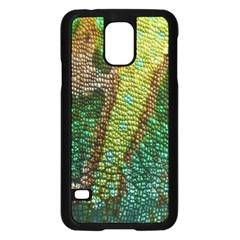Chameleon Skin Texture Samsung Galaxy S5 Case (black)