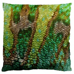 Chameleon Skin Texture Large Flano Cushion Case (Two Sides)