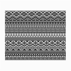Aztec Pattern Design Small Glasses Cloth (2-Side)