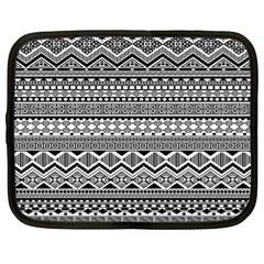 Aztec Pattern Design Netbook Case (xl)