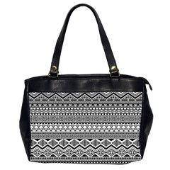 Aztec Pattern Design Office Handbags (2 Sides)