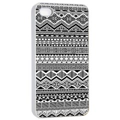 Aztec Pattern Design Apple iPhone 4/4s Seamless Case (White)