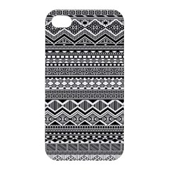 Aztec Pattern Design Apple Iphone 4/4s Hardshell Case