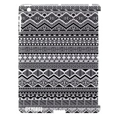 Aztec Pattern Design Apple iPad 3/4 Hardshell Case (Compatible with Smart Cover)