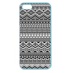 Aztec Pattern Design Apple Seamless Iphone 5 Case (color)