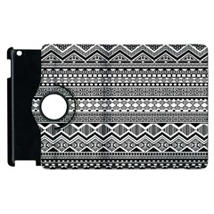 Aztec Pattern Design Apple iPad 3/4 Flip 360 Case