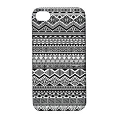 Aztec Pattern Design Apple iPhone 4/4S Hardshell Case with Stand