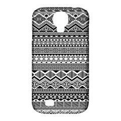 Aztec Pattern Design Samsung Galaxy S4 Classic Hardshell Case (PC+Silicone)