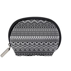 Aztec Pattern Design Accessory Pouches (small)