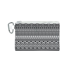Aztec Pattern Design Canvas Cosmetic Bag (s)