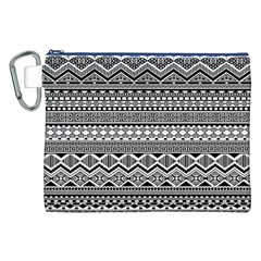 Aztec Pattern Design Canvas Cosmetic Bag (XXL)