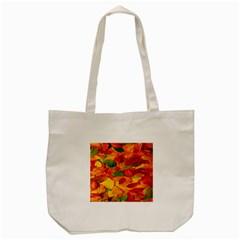 Leaves Texture Tote Bag (Cream)