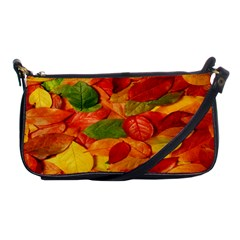 Leaves Texture Shoulder Clutch Bags