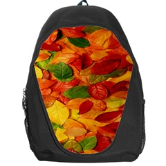 Leaves Texture Backpack Bag