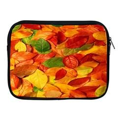 Leaves Texture Apple iPad 2/3/4 Zipper Cases