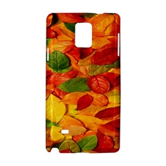Leaves Texture Samsung Galaxy Note 4 Hardshell Case