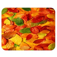 Leaves Texture Double Sided Flano Blanket (Medium)