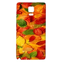 Leaves Texture Galaxy Note 4 Back Case