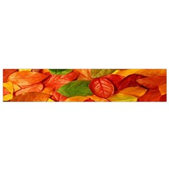 Leaves Texture Flano Scarf (Small)