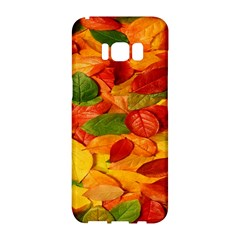 Leaves Texture Samsung Galaxy S8 Hardshell Case