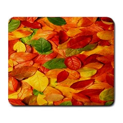 Leaves Texture Large Mousepads