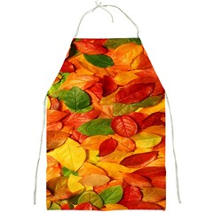 Leaves Texture Full Print Aprons