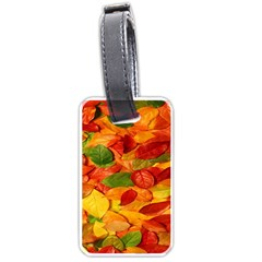 Leaves Texture Luggage Tags (One Side)