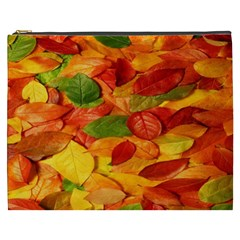 Leaves Texture Cosmetic Bag (XXXL)