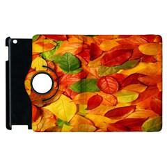 Leaves Texture Apple iPad 2 Flip 360 Case