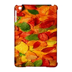 Leaves Texture Apple iPad Mini Hardshell Case (Compatible with Smart Cover)