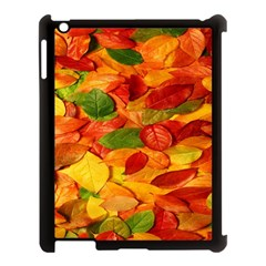 Leaves Texture Apple Ipad 3/4 Case (black)
