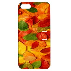Leaves Texture Apple Iphone 5 Hardshell Case With Stand