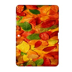 Leaves Texture Samsung Galaxy Tab 2 (10 1 ) P5100 Hardshell Case