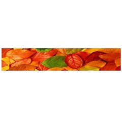 Leaves Texture Flano Scarf (Large)