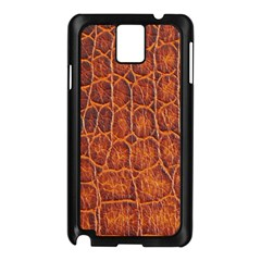 Crocodile Skin Texture Samsung Galaxy Note 3 N9005 Case (Black)