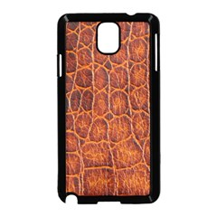 Crocodile Skin Texture Samsung Galaxy Note 3 Neo Hardshell Case (black)