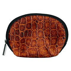 Crocodile Skin Texture Accessory Pouches (medium)