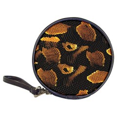 Gold Snake Skin Classic 20-CD Wallets