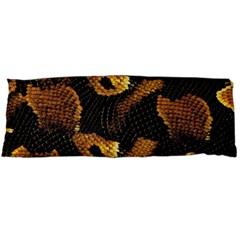 Gold Snake Skin Body Pillow Case Dakimakura (two Sides)