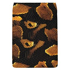 Gold Snake Skin Flap Covers (S)