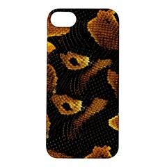 Gold Snake Skin Apple iPhone 5S/ SE Hardshell Case