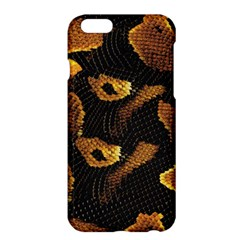 Gold Snake Skin Apple iPhone 6 Plus/6S Plus Hardshell Case