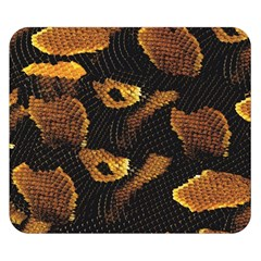 Gold Snake Skin Double Sided Flano Blanket (small)
