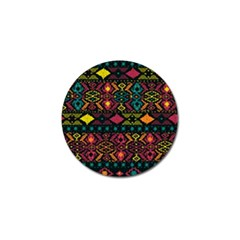 Bohemian Patterns Tribal Golf Ball Marker