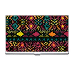 Bohemian Patterns Tribal Business Card Holders